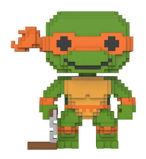 Picture of Tortugas Ninja 8-Bit POP! Vinyl Figura Michelangelo 9 cm