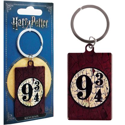 Picture of Harry Potter Llavero Rectangular Plarform 9 3/4