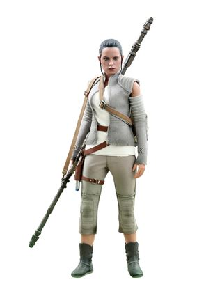 Picture of Star Wars Episode VII Figura Movie Masterpiece 1/6 Rey Resistance Outfit Hot Toys Exclusive 28 cm