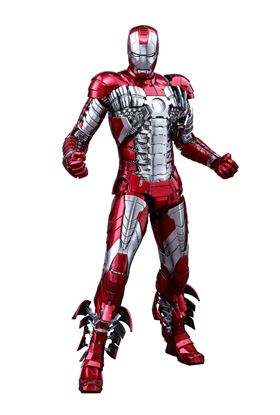 Picture of Iron Man 2 Figura Movie Masterpiece Diecast 1/6 Iron Man Mark V 32 cm