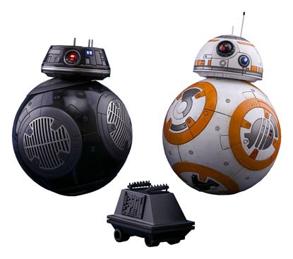Picture of Star Wars Episode VIII Pack de 2 Figuras Movie Masterpiece 1/6 BB-8 & BB-9E 11 cm