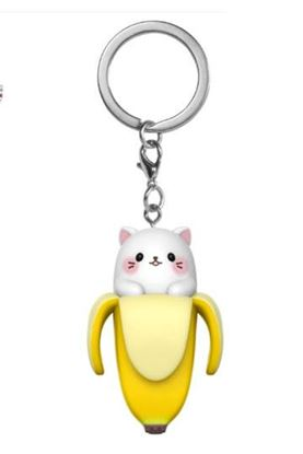 Picture of Bananya Llavero Pocket POP! Vinyl Bananya 4 cm