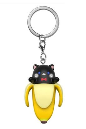 Picture of Bananya Llavero Pocket POP! Vinyl Black Bananya 4 cm