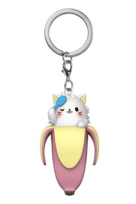 Imagen de Bananya Llavero Pocket POP! Vinyl Bananya (Long-haired) 4 cm