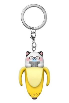 Picture of Bananya Llavero Pocket POP! Vinyl Daddy Bananya 4 cm