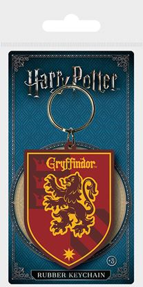 Picture of Harry Potter Llavero Caucho Escudo Gryffindor