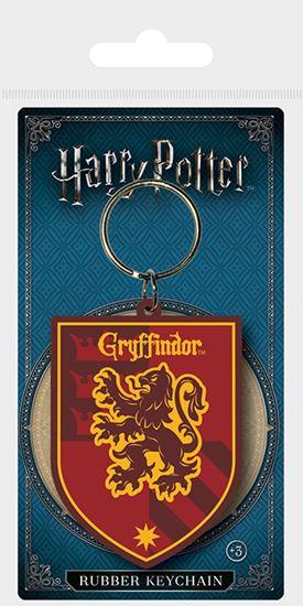 Picture of Harry Potter Llavero Caucho Escudo Gryffindor