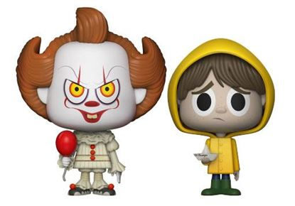 Picture of It Pack de 2 VYNL Vinyl Figuras Pennywise & Georgie 10 cm