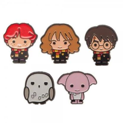 Picture of Harry Potter Set 5 Pins Kawaii