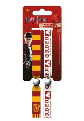 Picture of Pack de 2 Pulseras de Festival Gryffindor - Harry Potter