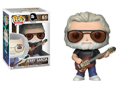 Picture of Jerry Garcia POP! Rocks Vinyl Figura Jerry Garcia 9 cm