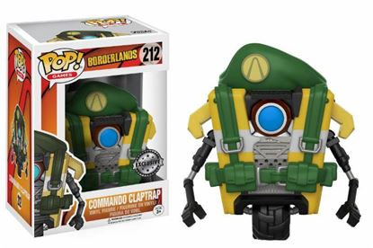 Picture of Borderlands POP! Games Vinyl Figura Commando Claptrap 9 cm DISPONIBLE APROX:ENERO 2018