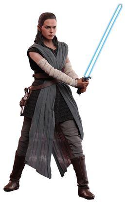 Picture of Star Wars Episode VIII Figura Movie Masterpiece 1/6 Rey Jedi Training 28 cm