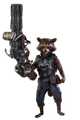 Picture of Guardianes de la Galaxia Vol. 2 Figura Movie Masterpiece 1/6 Rocket Raccoon Deluxe Ver. 16 cm