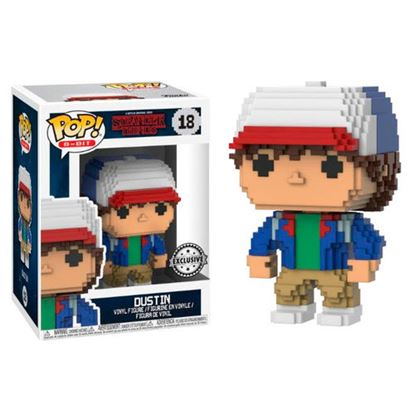 Picture of FIGURA 8-BIT POP STRANGER THINGS: DUSTIN