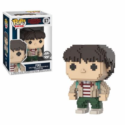 Imagen de Stranger Things POP! 8-BIT Vinyl Figura Mike 9 cm