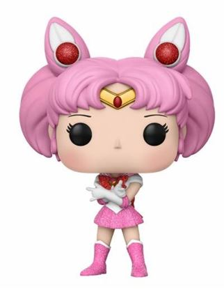 Picture of Sailor Moon POP! Animation Vinyl Figura Sailor Chibi Moon 9 cm GLITTER