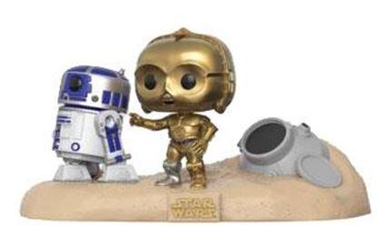 Picture of Star Wars Pack de 2 POP! Movie Moments Vinyl Cabezón Escape Pod Landing 9 cm