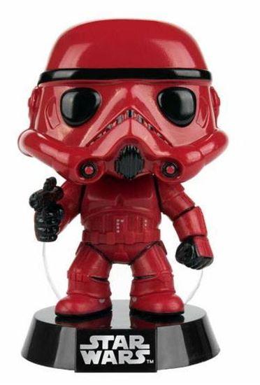Picture of Star Wars POP! Vinyl Cabezón Red Stormtrooper 9 cm