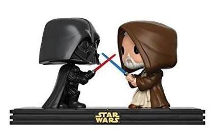 Picture of Star Wars Pack de 2 POP! Movie Moments Vinyl Cabezón Death Star Duel 9 cm