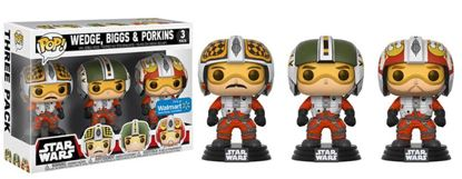 Picture of Star Wars Pack de 3 Figuras POP! Vinyl Wedge, Biggs & Porkins 9 cm