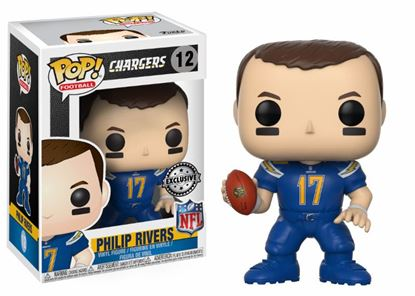 Picture of NFL POP! Football Vinyl Figura Philip Rivers (Los Angeles Chargers) 9 cm