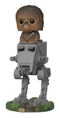 Picture of Star Wars POP! Deluxe Vinyl Figura Chewbacca with AT-ST 10 cm