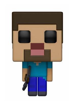 Picture of Minecraft Figura POP! Games Vinyl Steve 9 cm