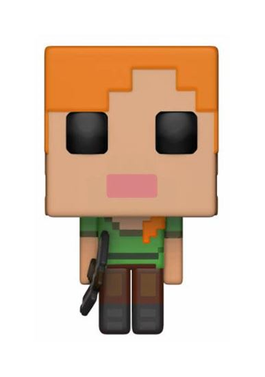 Foto de Minecraft Figura POP! Games Vinyl Alex 9 cm