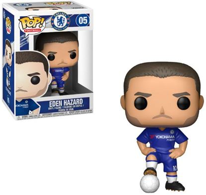 Picture of EPL POP! Football Vinyl Figura Eden Hazard (Chelsea) 9 cm