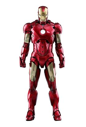 Picture of Iron Man 2 Figura Diecast Movie Masterpiece 1/6 Iron Man Mark IV 32 cm