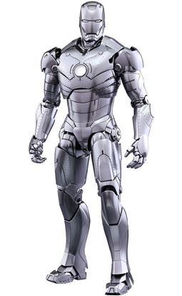 Picture of Iron Man 2 Figura Diecast Movie Masterpiece 1/6 Iron Man Mark II 31 cm