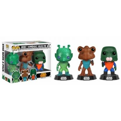 Picture of FIGURA POP PACK STAR WARS: GREEDO,HAMMERHEAD & WALRUS