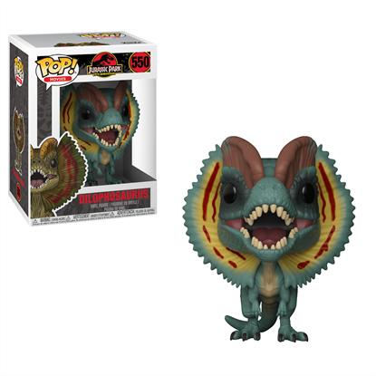 Imagen de Jurassic Park Figuras POP! Movies Vinyl 9 cm Dilophosaurus