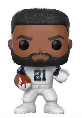 Picture of NFL POP! Football Vinyl Figura Ezekiel Elliott (Dallas Cowboys) 9 cm