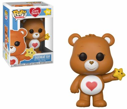 Picture of Care Bears POP! Animation Vinyl Figura Tenderheart Bear 9 cm