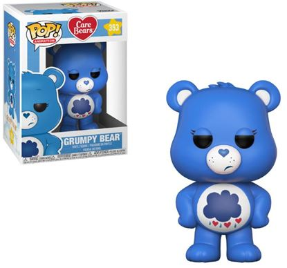 Picture of Care Bears POP! Animation Vinyl Figura Grumpy Bear 9 cm