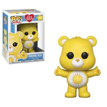 Picture of Care Bears POP! Animation Vinyl Figuren Funshine Bear 9 cm