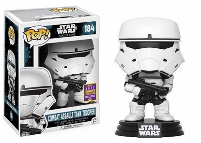 Picture of Star Wars Rogue One POP! Vinyl Cabezón Combat Assault Tank Trooper SDCC 2017 9 cm