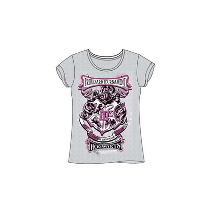 Picture of Harry Potter Camiseta Chica Hogwarts Talla L