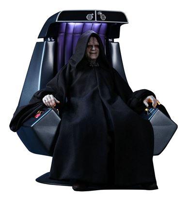 Picture of Star Wars Episodio VI Figura Movie Masterpiece 1/6 Emperor Palpatine Deluxe Version 29 cm