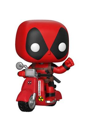 Picture of Deadpool POP! Rides Vinyl Figura Deadpool & Scooter 15 cm DISPONIBLE APROX: JULIO 2018