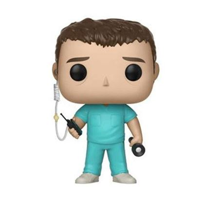 Picture of Stranger Things POP! Movies Vinyl Figura Bob in Scrubs 9 cm.