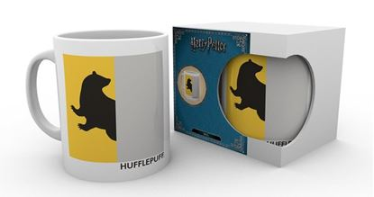 Picture of Harry Potter Taza Hufflepuf Minimalist