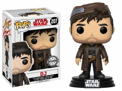 Picture of FIGURA POP STAR WARS EPISODIO VIII: LAST JEDI DJ