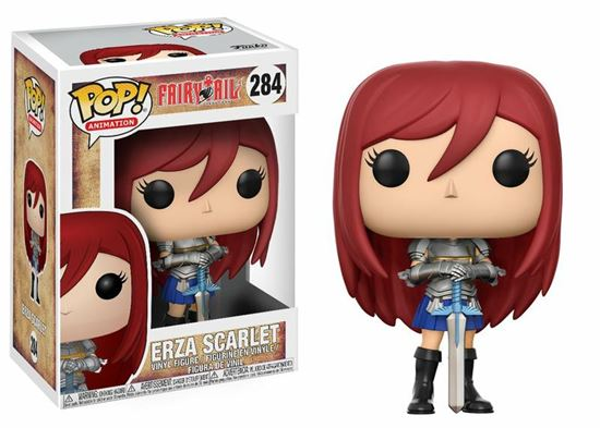 Picture of Fairy Tail POP! Animation Vinyl Figura Erza Scarlet 9 cm.