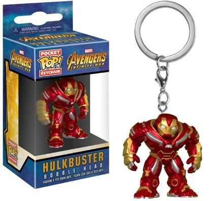 Picture of Avengers Infinity War Llavero Pocket POP! Vinyl Hulkbuster 4 cm
