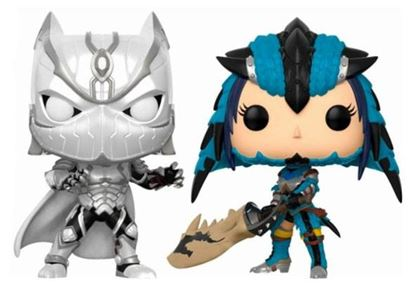 Picture of Marvel vs. Capcom Infinite POP! Games Vinyl Pack de 2 Figuras Black Panther vs. Monster Hunter 9 cm