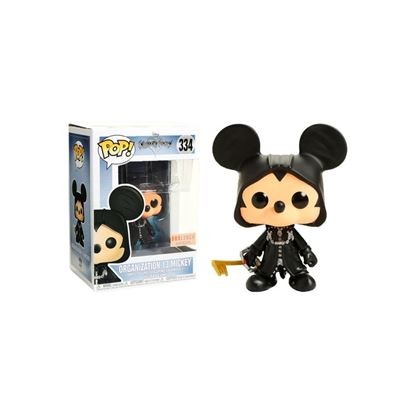 Imagen de FIGURA POP KINGDOM HEART: ORGANIZATION 13 MICKEY