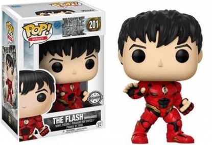 Picture of Justice League Movie POP! Movies Vinyl Figura The Flash Unmasked 9 cm